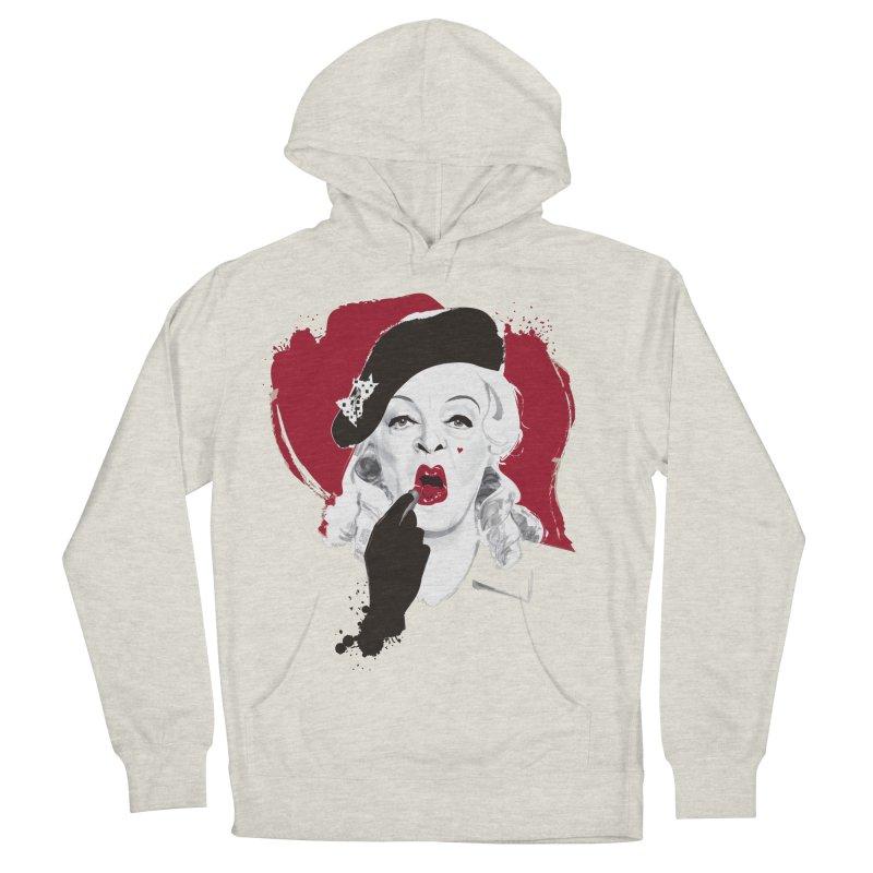 Baby Jane lipstick Women's French Terry Pullover Hoody by Ale Mogolloart's Artist Shop