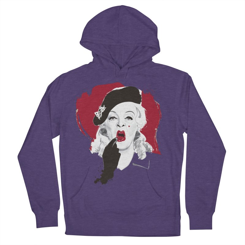 Baby Jane lipstick Men's French Terry Pullover Hoody by Ale Mogolloart's Artist Shop