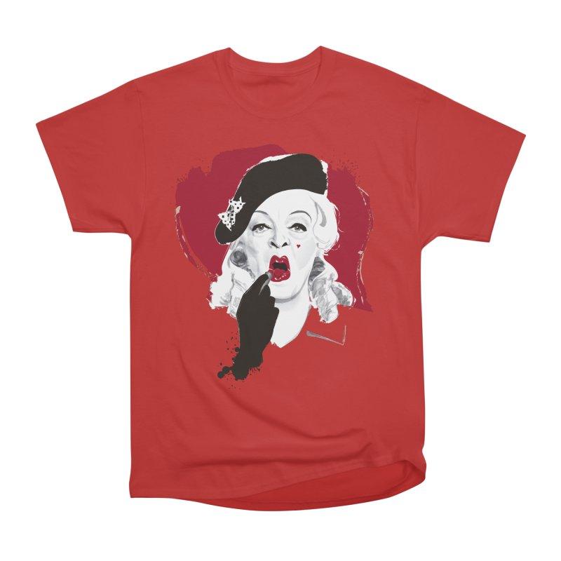 Baby Jane lipstick Women's Heavyweight Unisex T-Shirt by Ale Mogolloart's Artist Shop