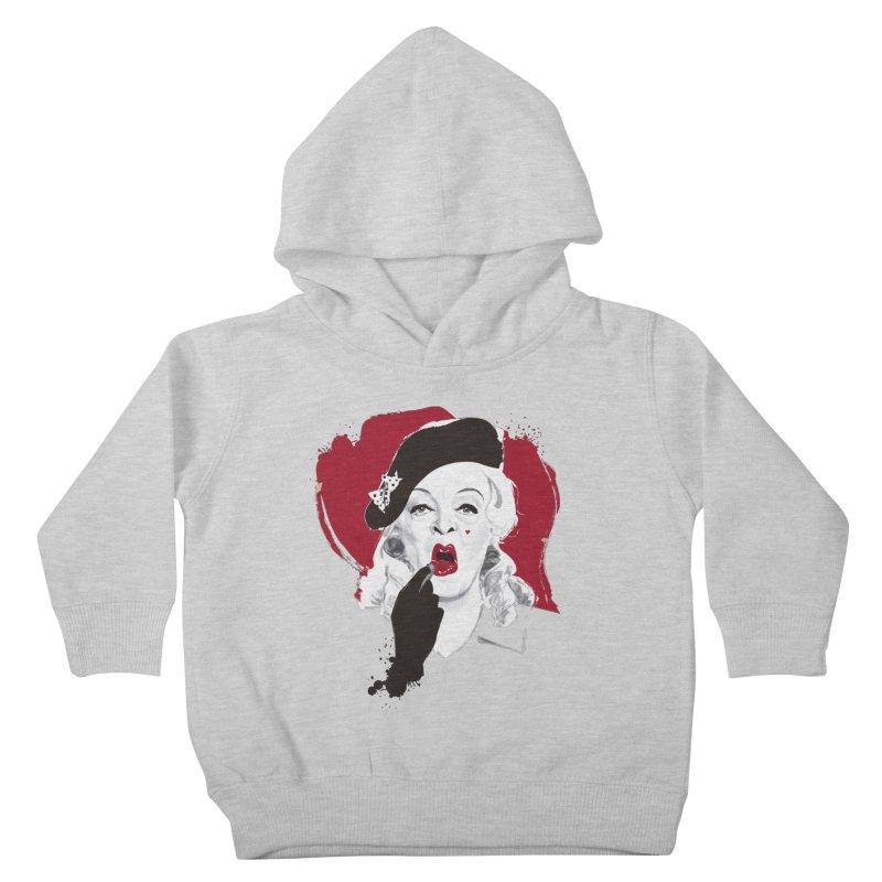 Baby Jane lipstick Kids Toddler Pullover Hoody by Ale Mogolloart's Artist Shop