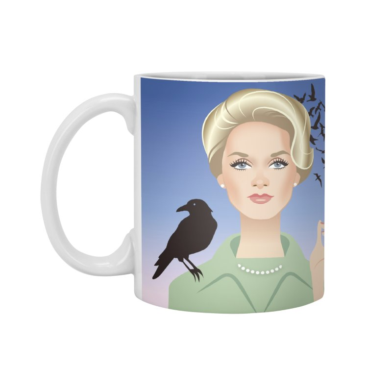 Birds Accessories Standard Mug by Ale Mogolloart's Artist Shop