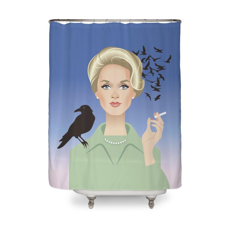 Birds Home Shower Curtain by Ale Mogolloart's Artist Shop