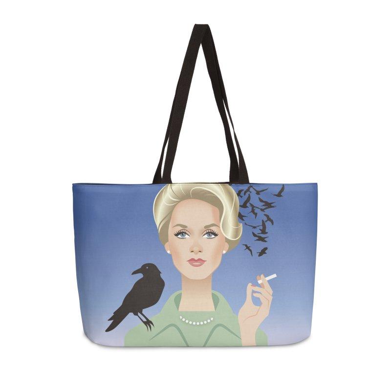 Birds Accessories Weekender Bag Bag by Ale Mogolloart's Artist Shop