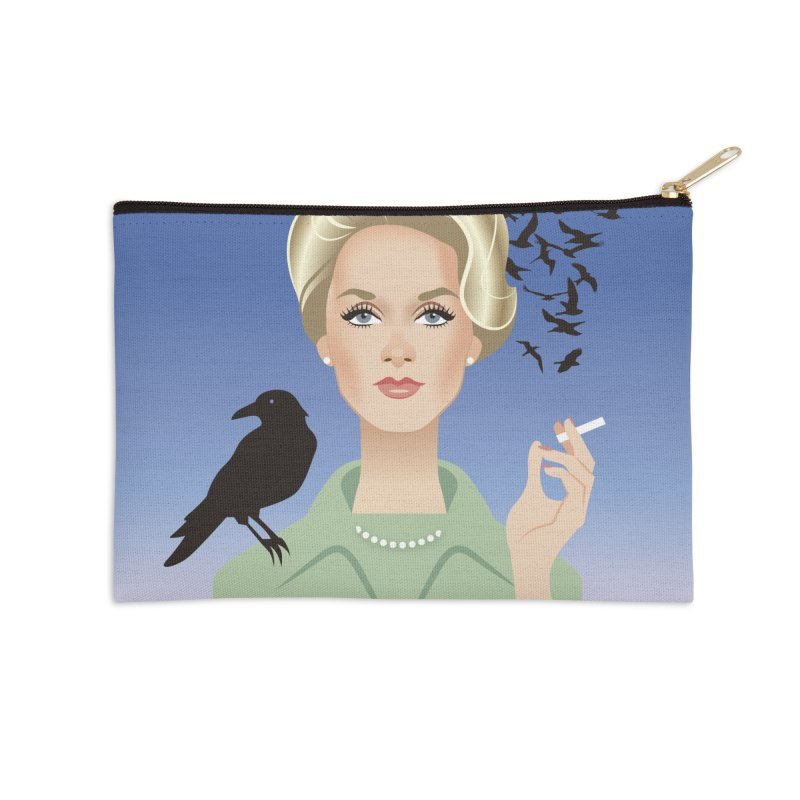 Birds Accessories Zip Pouch by Ale Mogolloart's Artist Shop