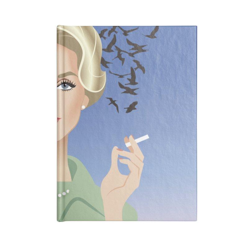 Birds Accessories Lined Journal Notebook by Ale Mogolloart's Artist Shop