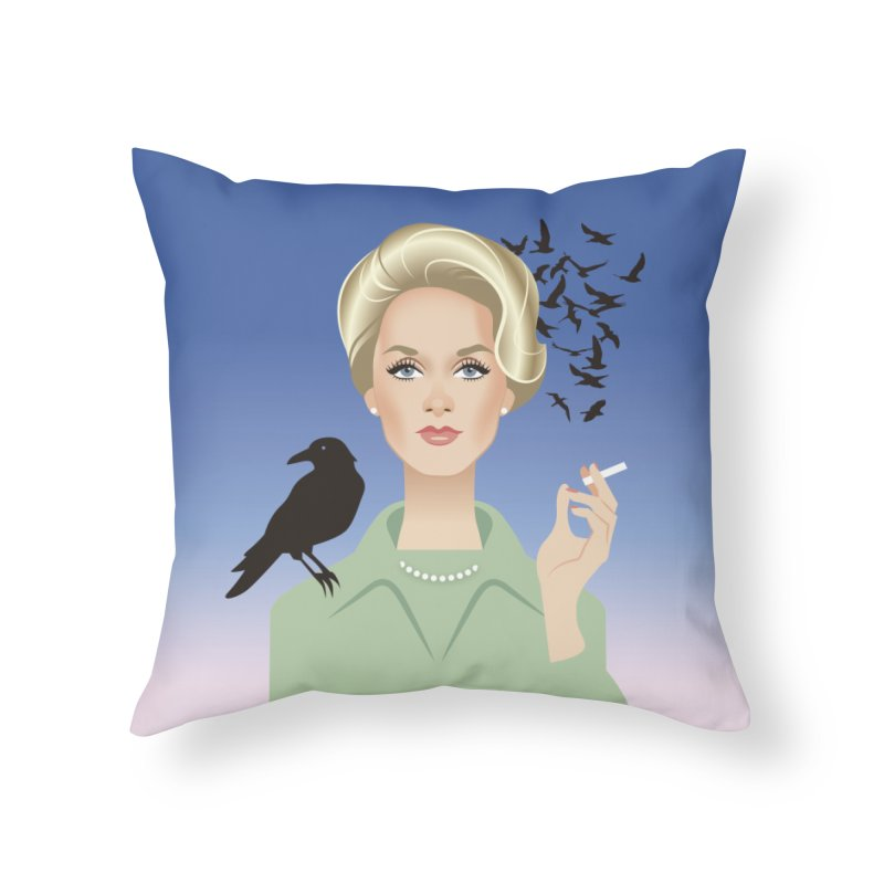 Birds Home Throw Pillow by Ale Mogolloart's Artist Shop