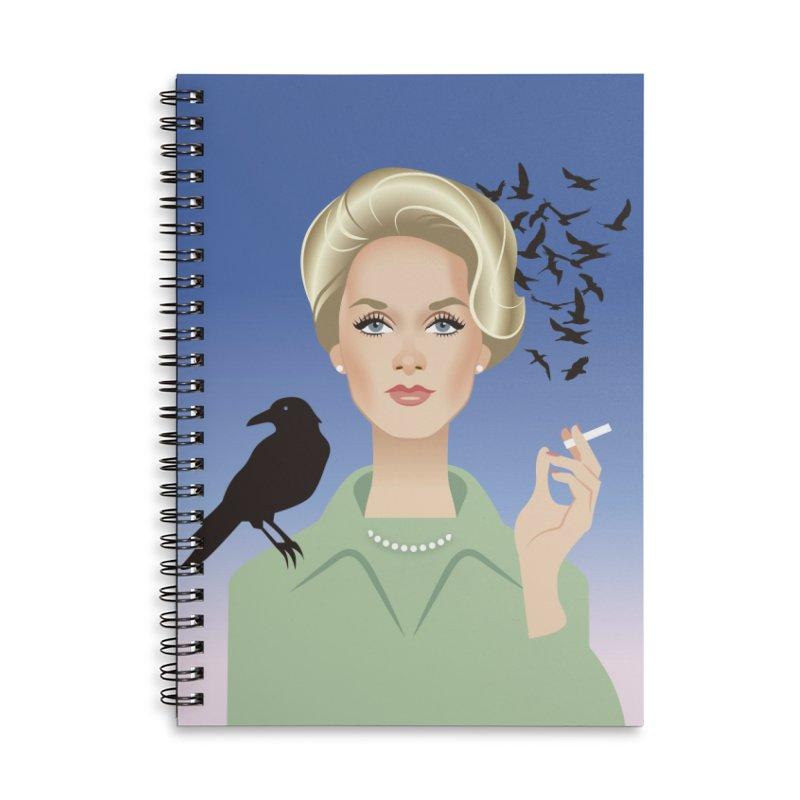 Birds Accessories Lined Spiral Notebook by Ale Mogolloart's Artist Shop