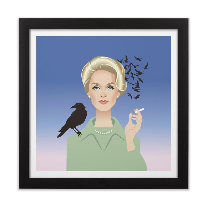 Birds Home Framed Fine Art Print by Ale Mogolloart's Artist Shop