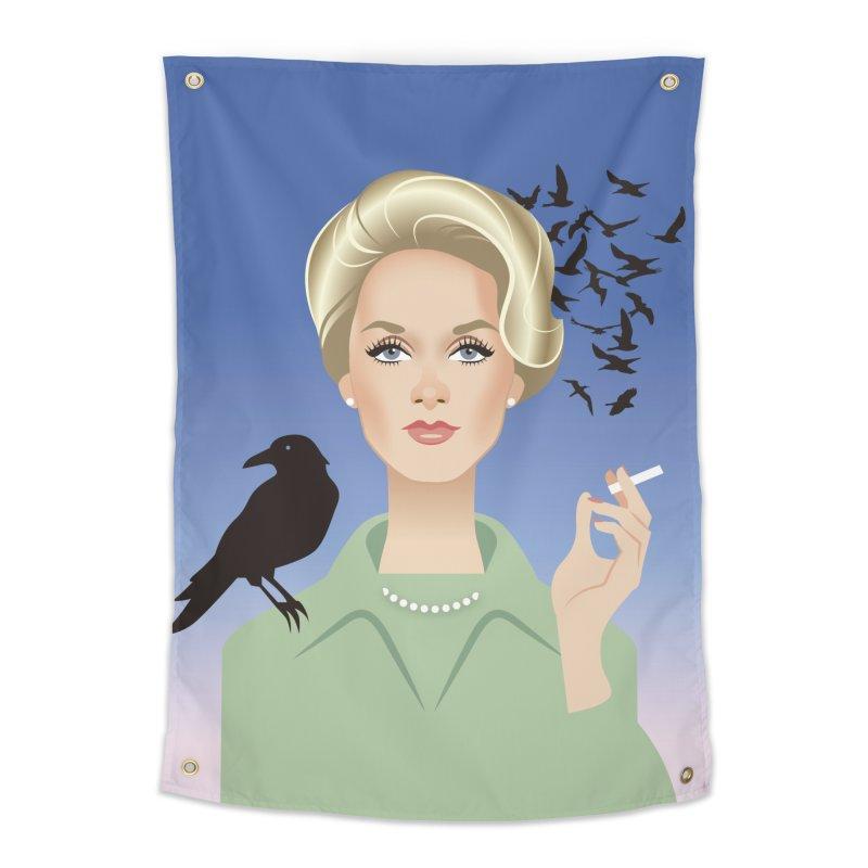 Birds Home Tapestry by Ale Mogolloart's Artist Shop