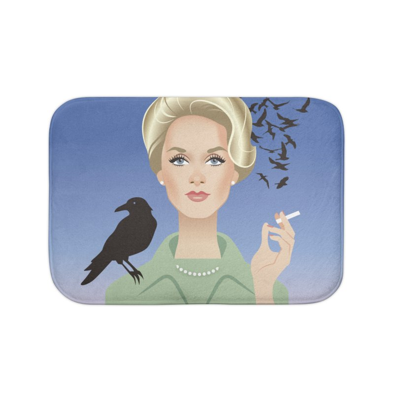 Birds Home Bath Mat by Ale Mogolloart's Artist Shop