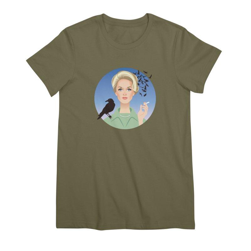 Birds Women's Premium T-Shirt by Ale Mogolloart's Artist Shop