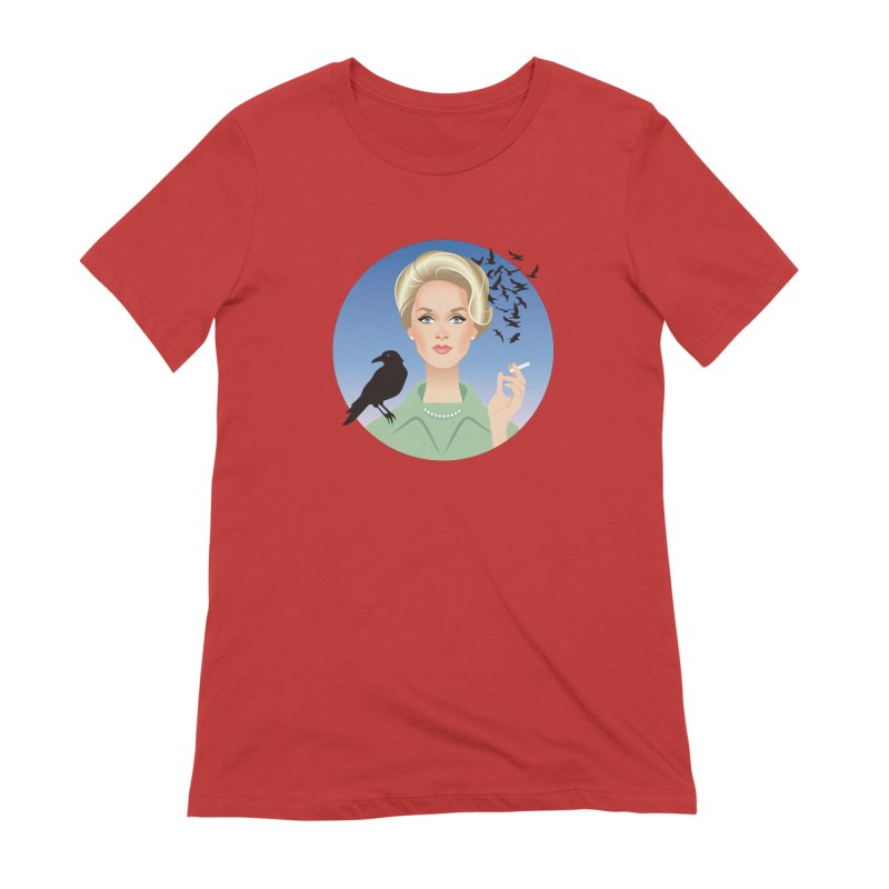 Birds Women's Extra Soft T-Shirt by Ale Mogolloart's Artist Shop