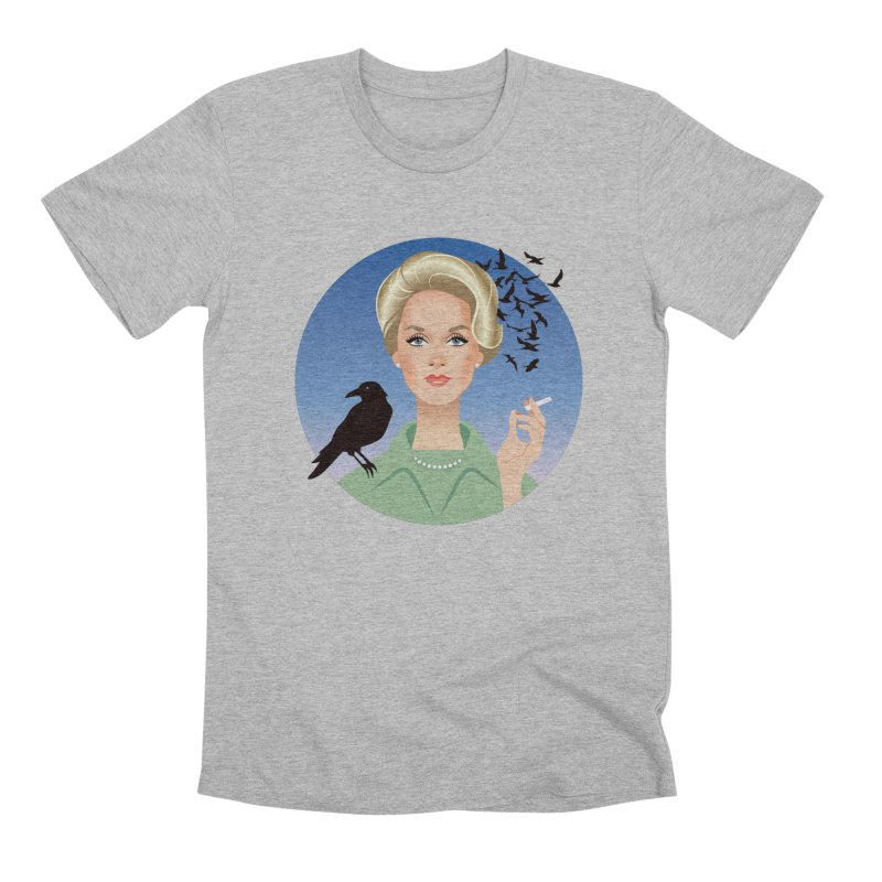 Birds Men's Premium T-Shirt by Ale Mogolloart's Artist Shop