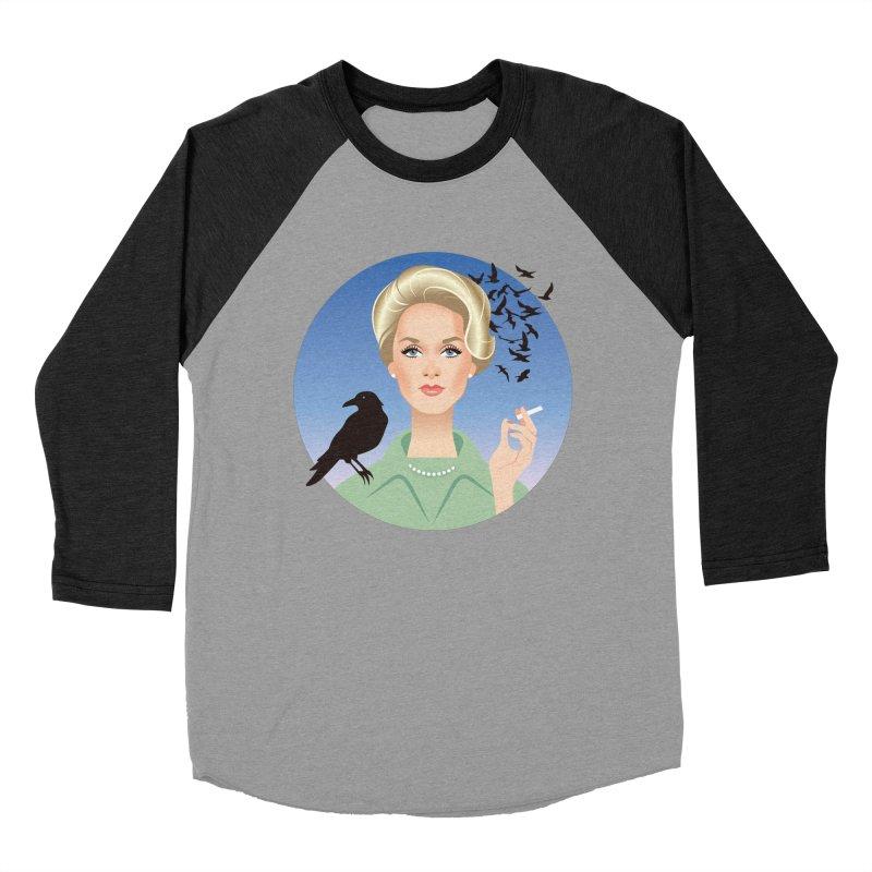 Birds Women's Baseball Triblend Longsleeve T-Shirt by Ale Mogolloart's Artist Shop