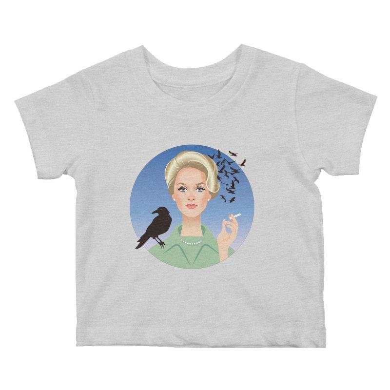Birds Kids Baby T-Shirt by Ale Mogolloart's Artist Shop
