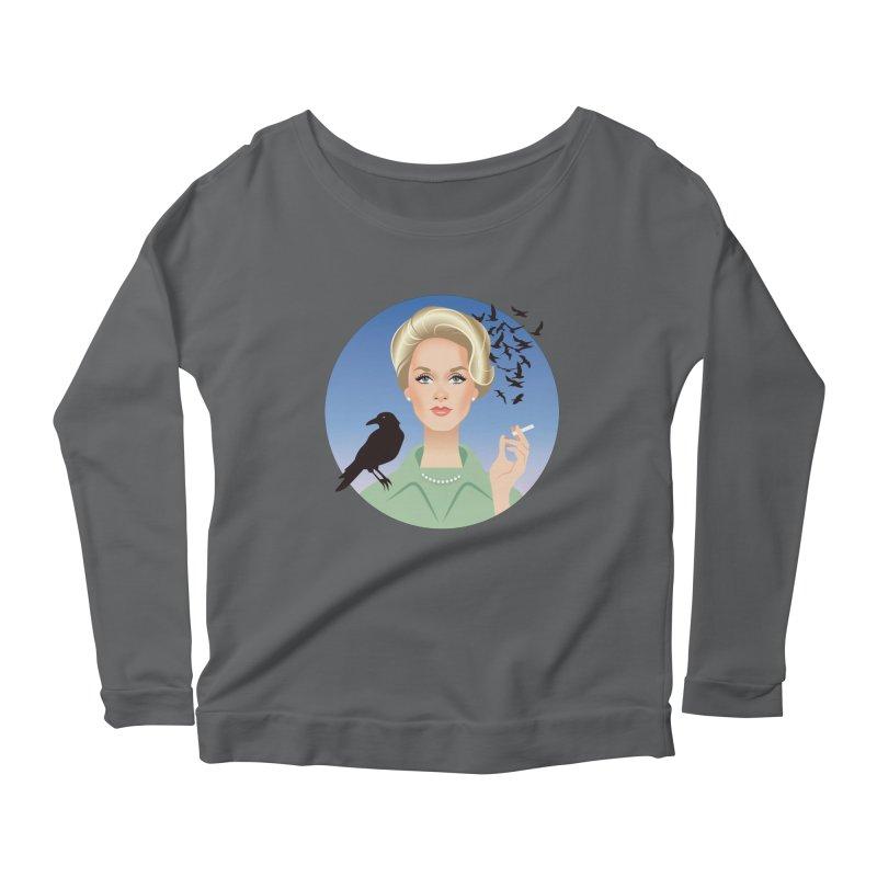 Birds Women's Scoop Neck Longsleeve T-Shirt by Ale Mogolloart's Artist Shop