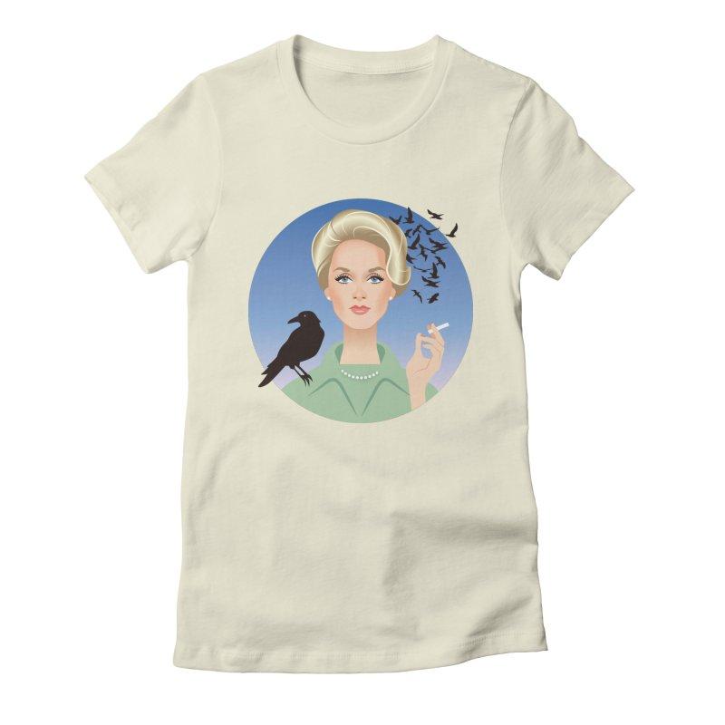 Birds Women's Fitted T-Shirt by Ale Mogolloart's Artist Shop