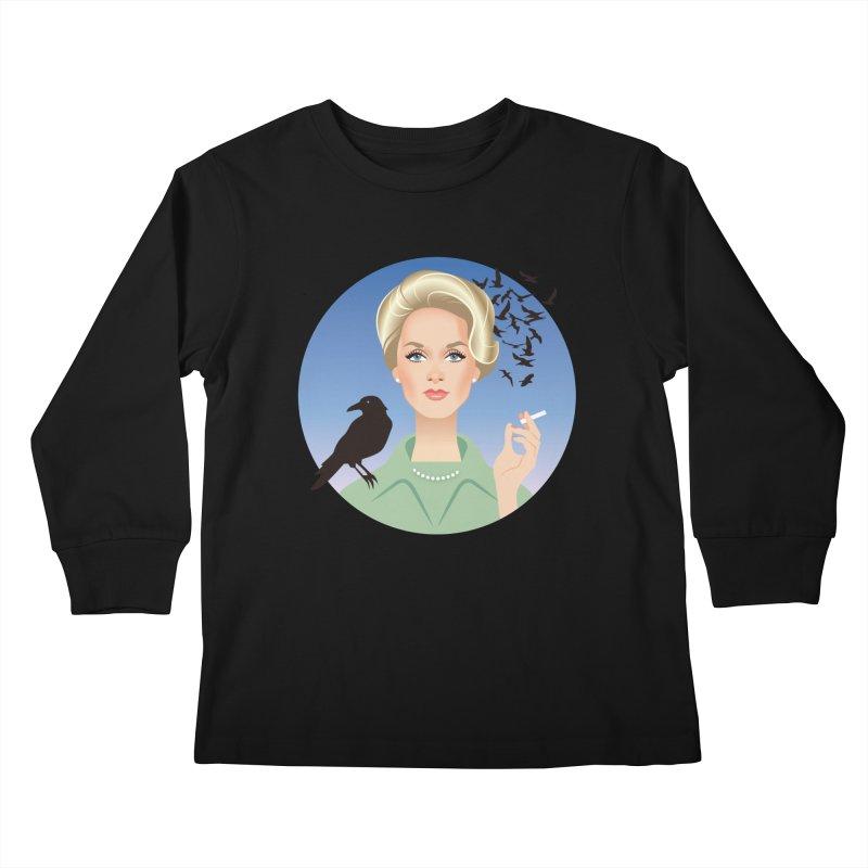 Birds Kids Longsleeve T-Shirt by Ale Mogolloart's Artist Shop