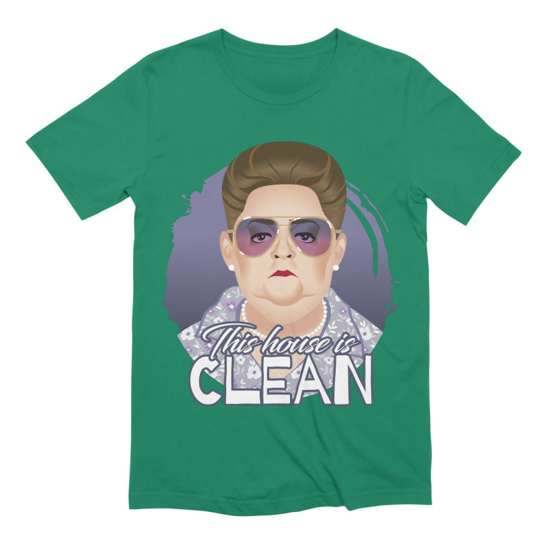 This house is clean Men's Extra Soft T-Shirt by Ale Mogolloart's Artist Shop