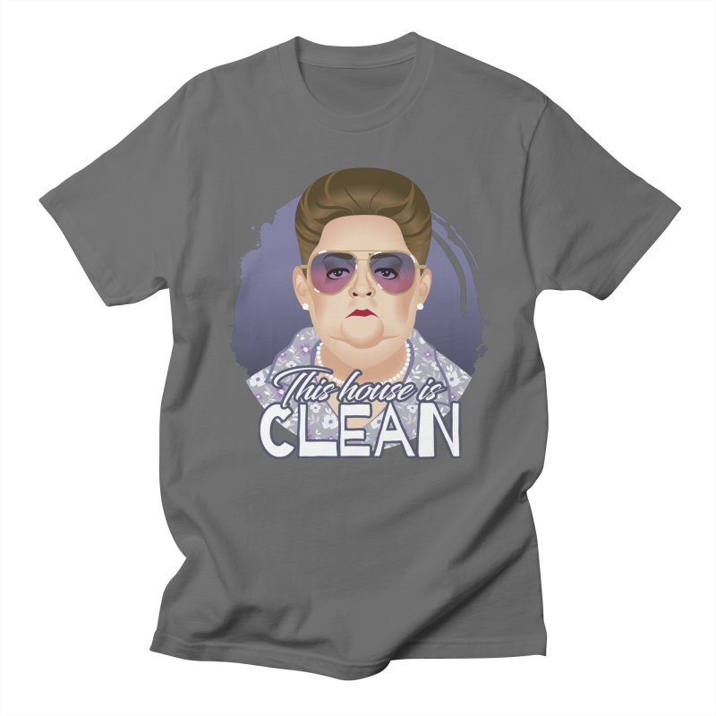 This house is clean Men's T-Shirt by Ale Mogolloart's Artist Shop