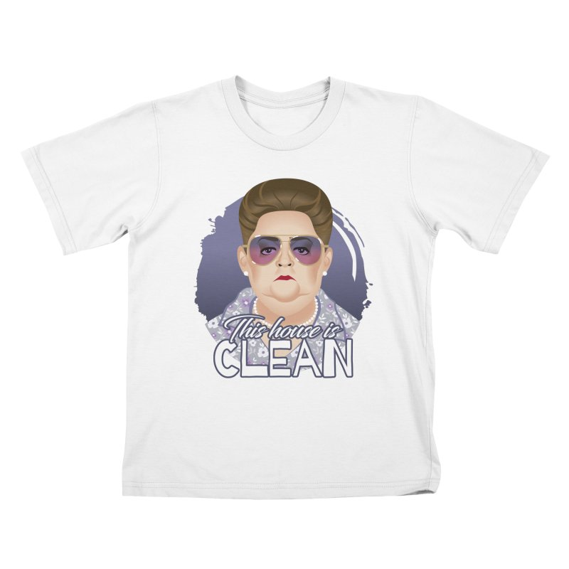 This house is clean Kids T-Shirt by Ale Mogolloart's Artist Shop