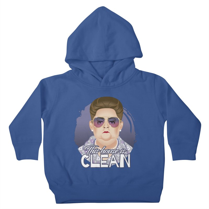 This house is clean Kids Toddler Pullover Hoody by Ale Mogolloart's Artist Shop