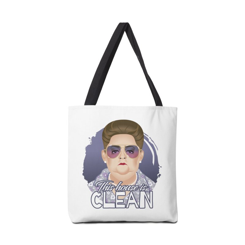 This house is clean Accessories Tote Bag Bag by Ale Mogolloart's Artist Shop