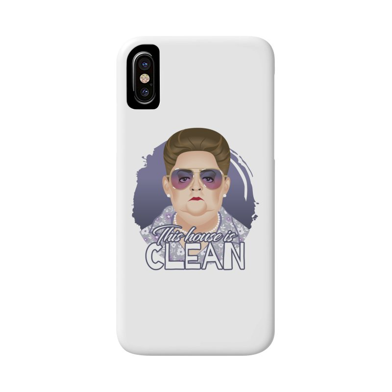 This house is clean Accessories Phone Case by Ale Mogolloart's Artist Shop