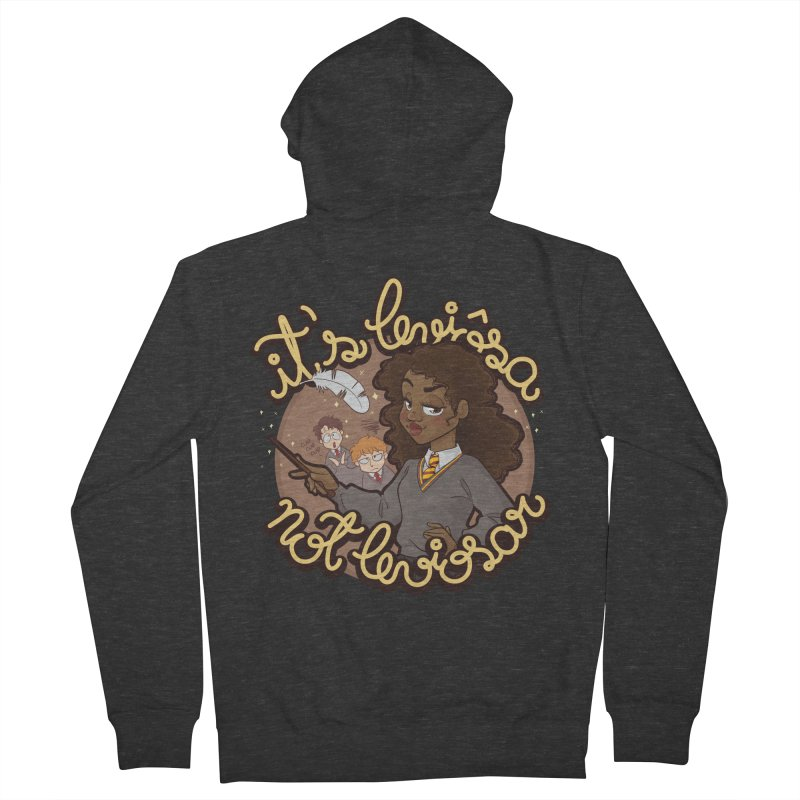 Leviosa Women's French Terry Zip-Up Hoody by AlePresser's Artist Shop