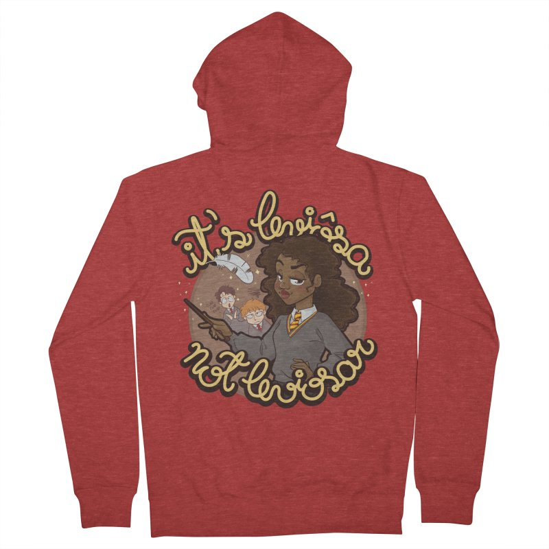 Leviosa Men's French Terry Zip-Up Hoody by AlePresser's Artist Shop