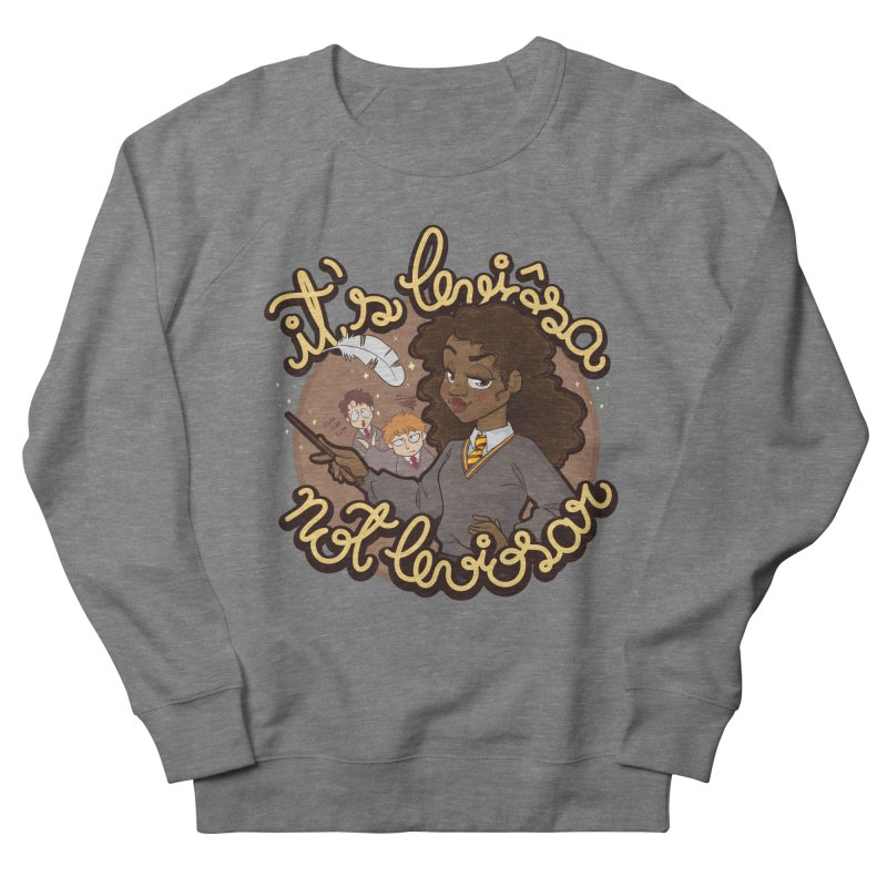 Leviosa Women's French Terry Sweatshirt by AlePresser's Artist Shop