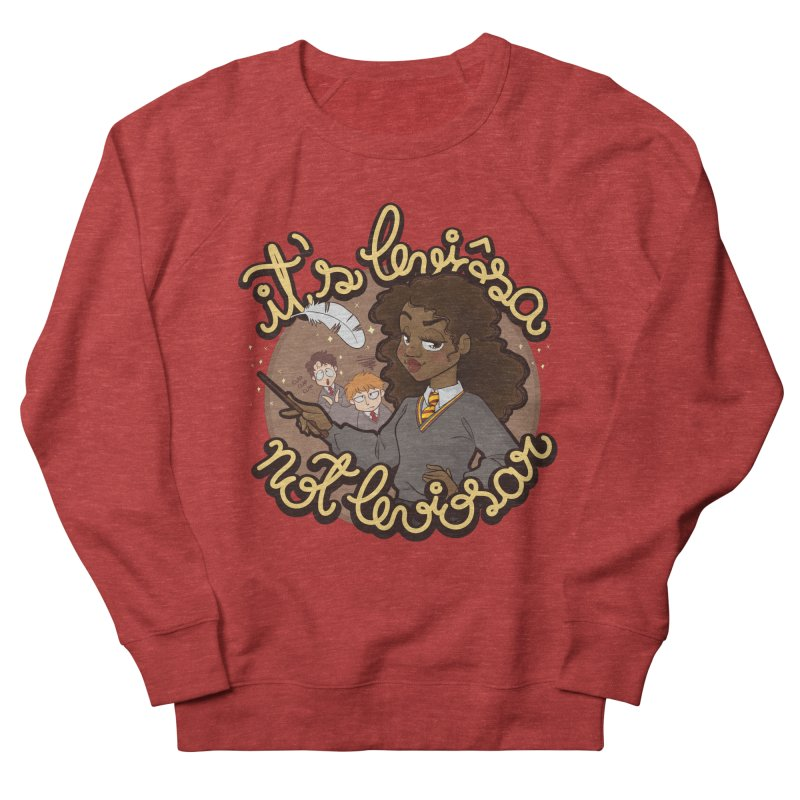 Leviosa Men's French Terry Sweatshirt by AlePresser's Artist Shop