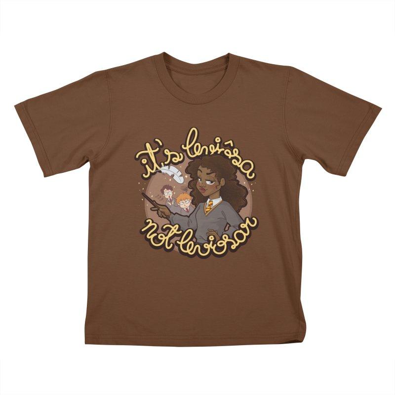 Leviosa Kids T-Shirt by AlePresser's Artist Shop