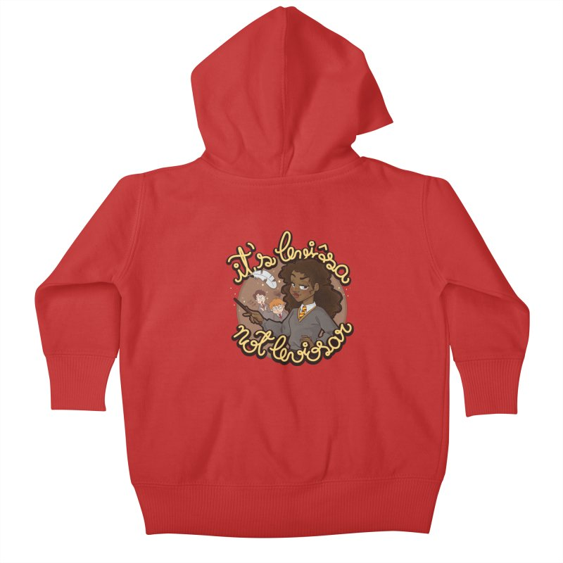 Leviosa Kids Baby Zip-Up Hoody by AlePresser's Artist Shop
