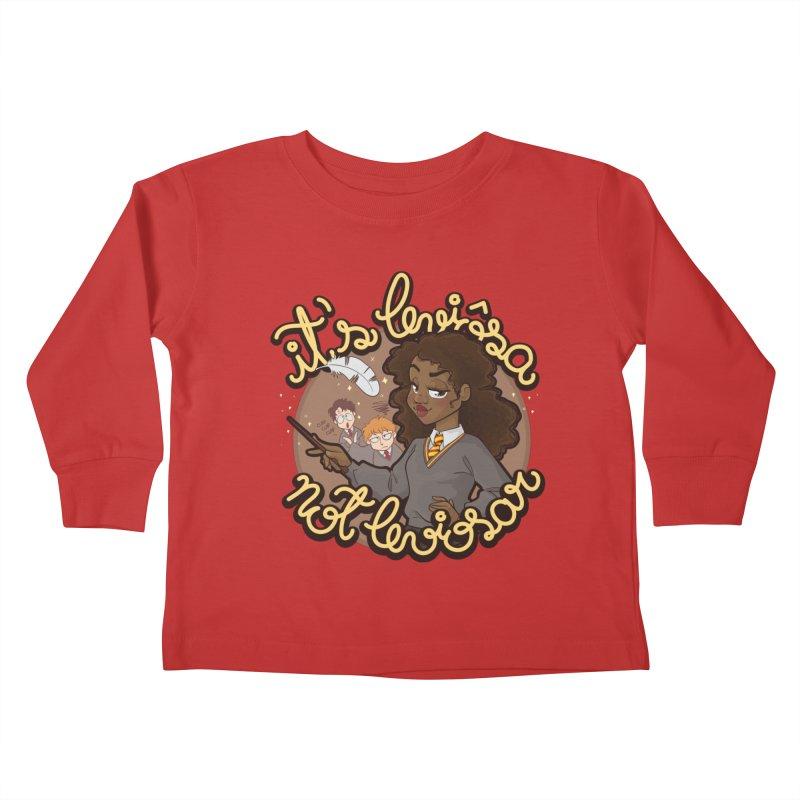Leviosa Kids Toddler Longsleeve T-Shirt by AlePresser's Artist Shop