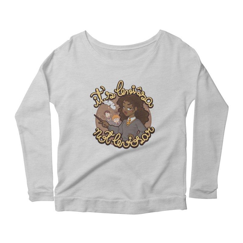 Leviosa Women's Scoop Neck Longsleeve T-Shirt by AlePresser's Artist Shop