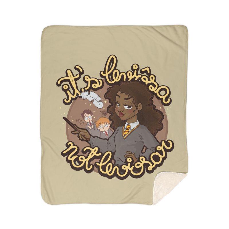 Leviosa Home Sherpa Blanket Blanket by AlePresser's Artist Shop