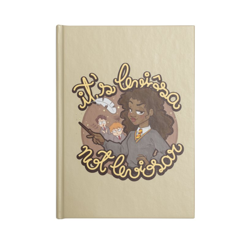 Leviosa Accessories Blank Journal Notebook by AlePresser's Artist Shop