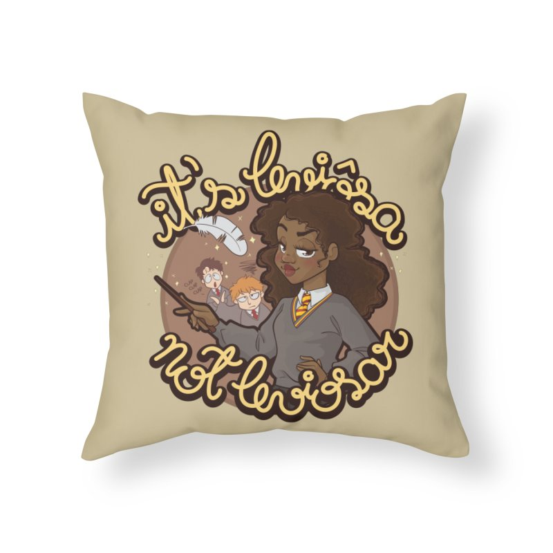 Leviosa Home Throw Pillow by AlePresser's Artist Shop