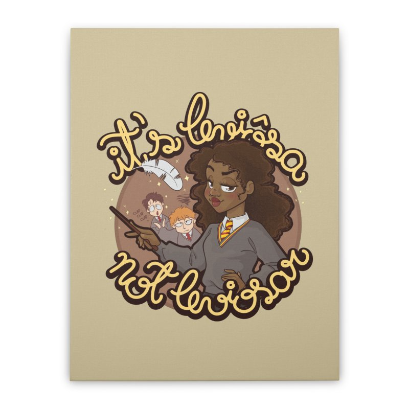 Leviosa Home Stretched Canvas by AlePresser's Artist Shop