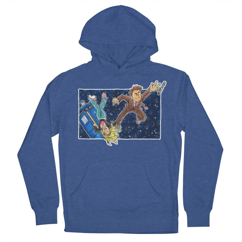 Tenth & Rose Men's French Terry Pullover Hoody by AlePresser's Artist Shop