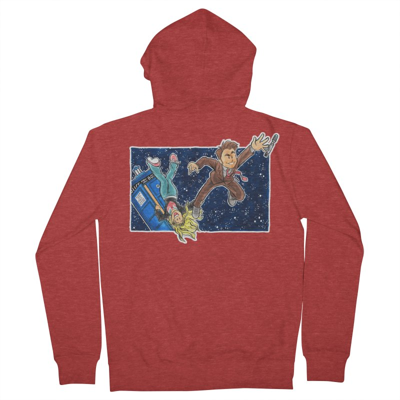 Tenth & Rose Women's French Terry Zip-Up Hoody by AlePresser's Artist Shop