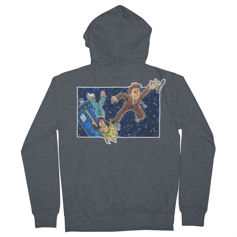 Tenth & Rose Men's French Terry Zip-Up Hoody by AlePresser's Artist Shop