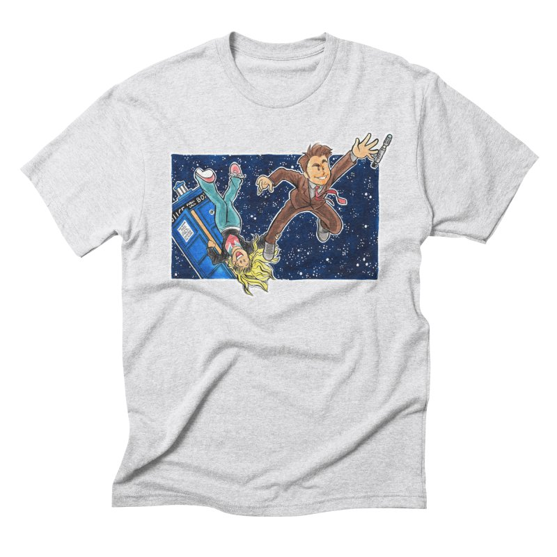 Tenth & Rose Men's Triblend T-Shirt by AlePresser's Artist Shop
