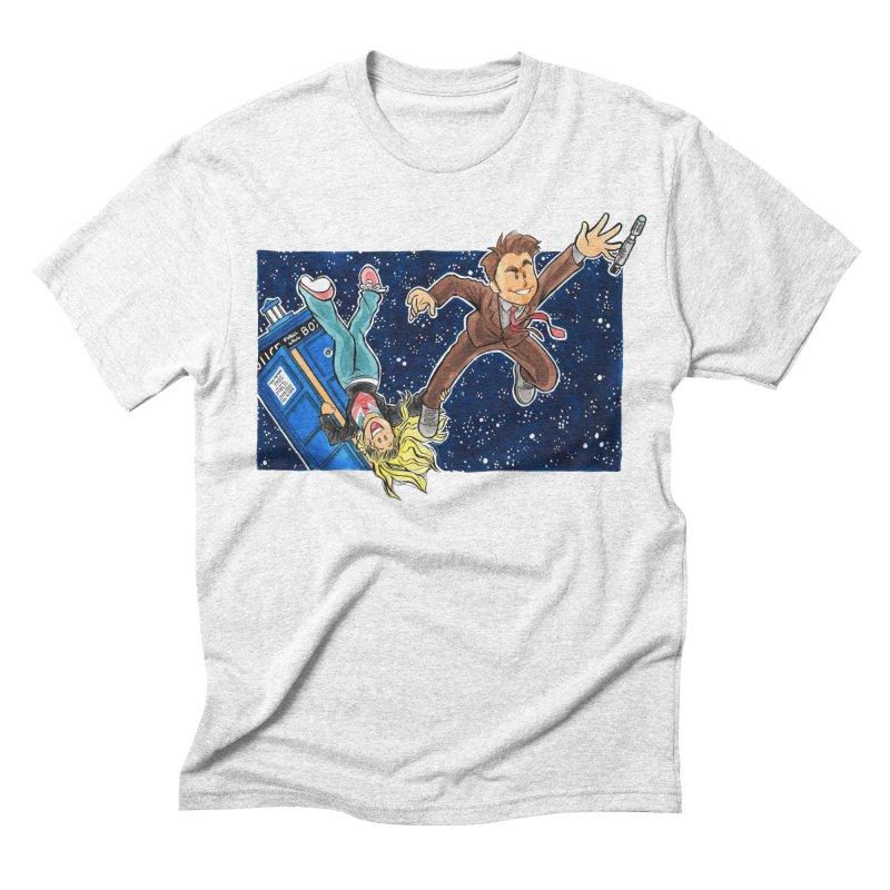 Tenth & Rose Men's Triblend T-shirt by AlePresser's Artist Shop