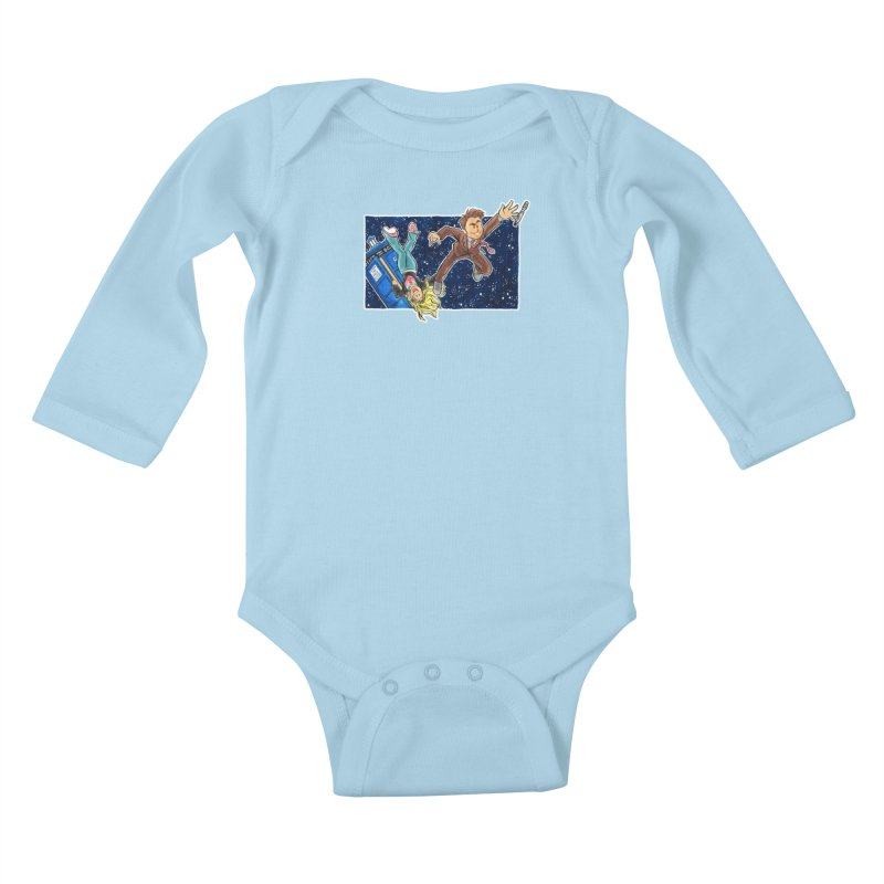 Tenth & Rose Kids Baby Longsleeve Bodysuit by AlePresser's Artist Shop