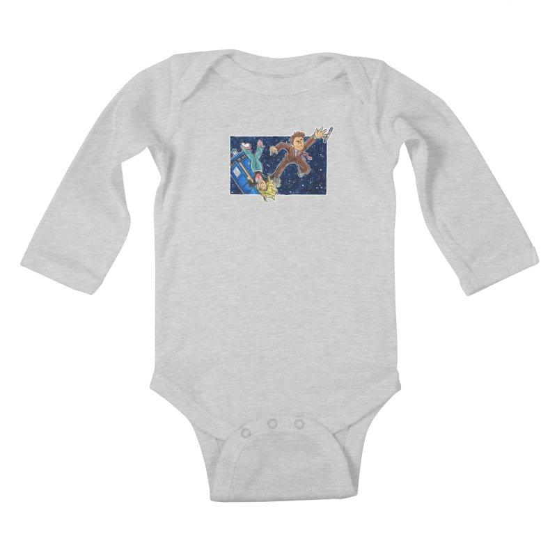 Tenth & Rose Kids Baby Longsleeve Bodysuit by AlePresser's Artist Shop