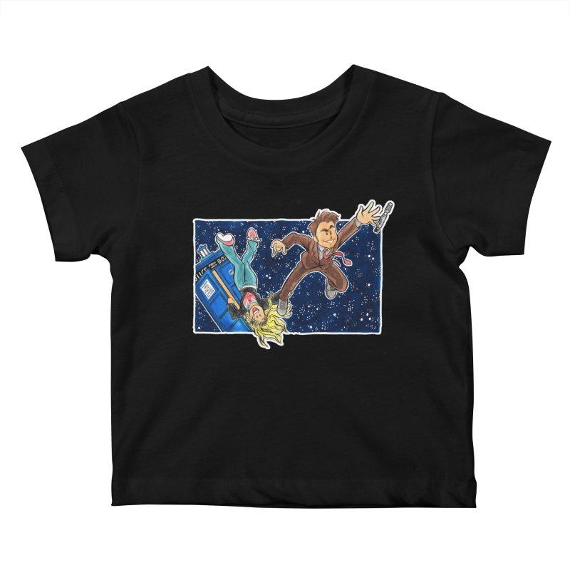 Tenth & Rose Kids Baby T-Shirt by AlePresser's Artist Shop