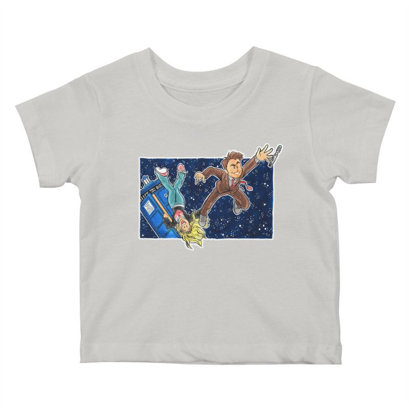 Tenth & Rose Kids Baby T-Shirt by AlePresser's Artist Shop