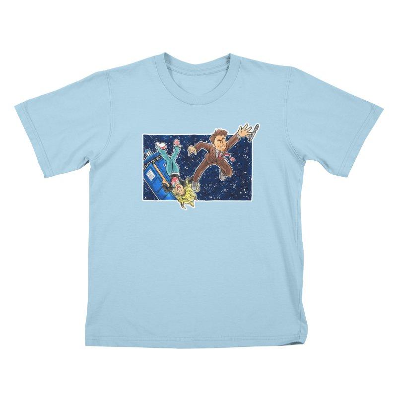Tenth & Rose Kids T-shirt by AlePresser's Artist Shop